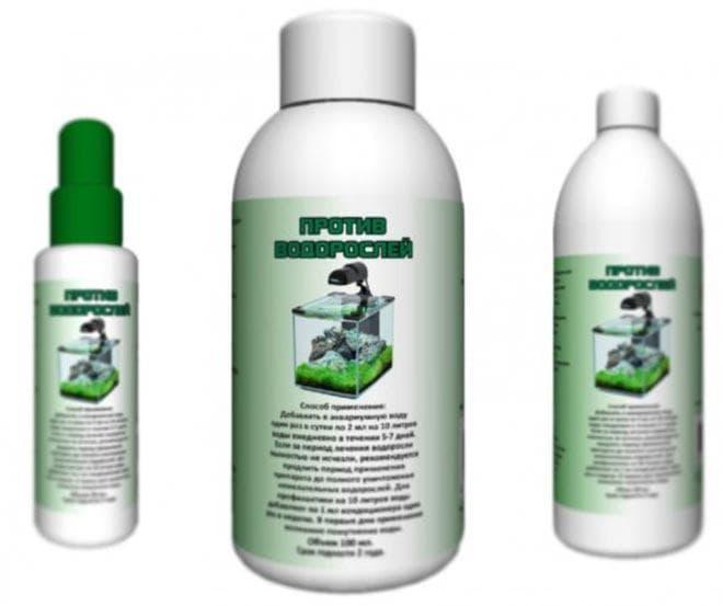 средство против водорослей