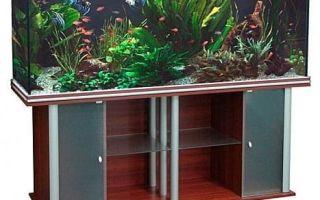 Выбираем или делаем тумбу для аквариума своими руками