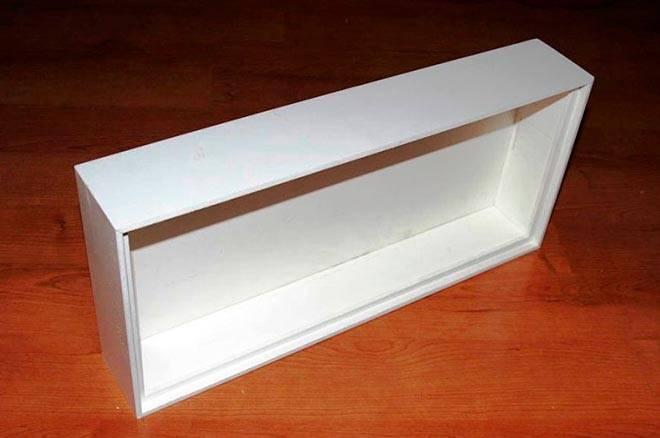 Склеенная крышка для аквариума