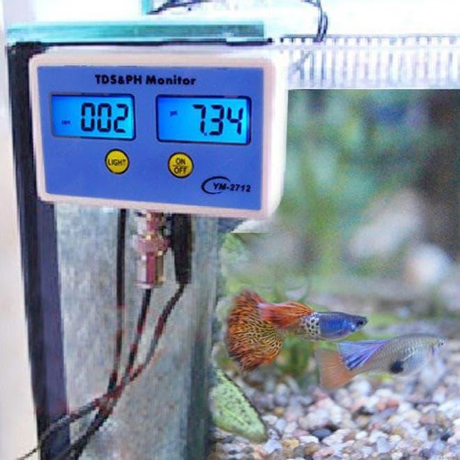 Aquarium-PH-TDS-Monitor-PH-Meter-TDS-Meter-Tester- измеряет ph